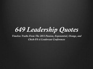 New FREE eBook 649 Leadership Quotes: Timeless Truths From ...